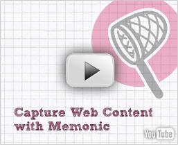 Voir les instructions vidéo Memonic